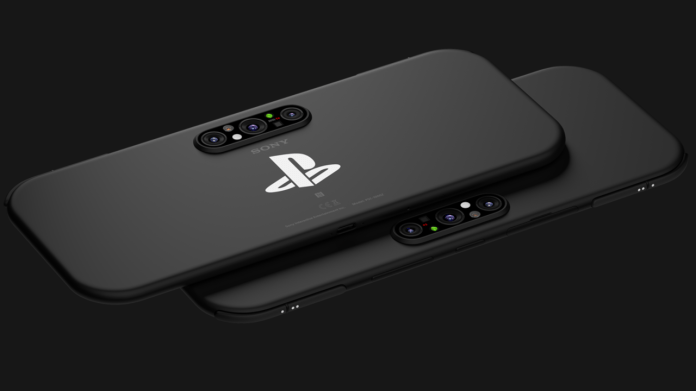 Sony PS5G PlayStation phone concept