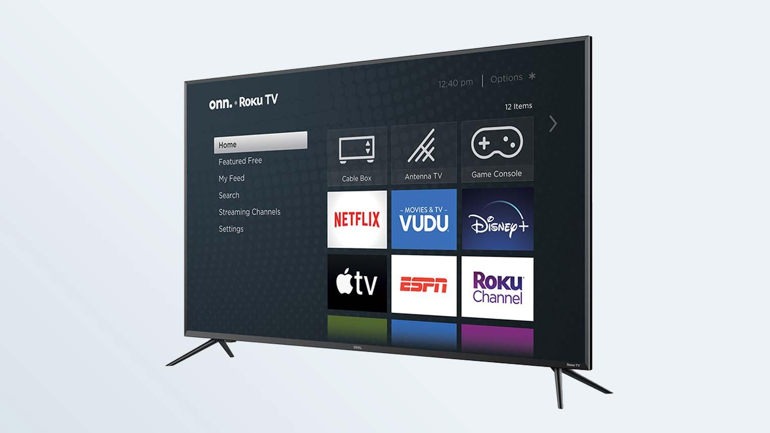 Best Roku TVs: Onn 50-inch 4K Roku Smart TV
