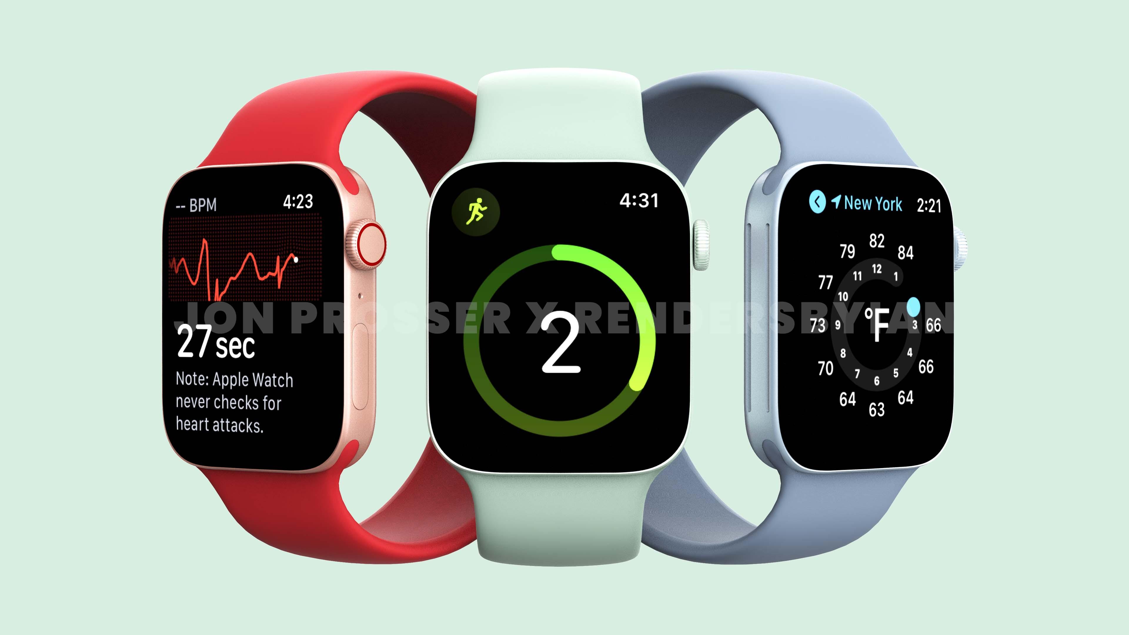 Apple Watch 7 leak