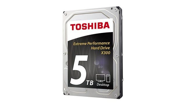Best high capacity hard drive: Toshiba X300