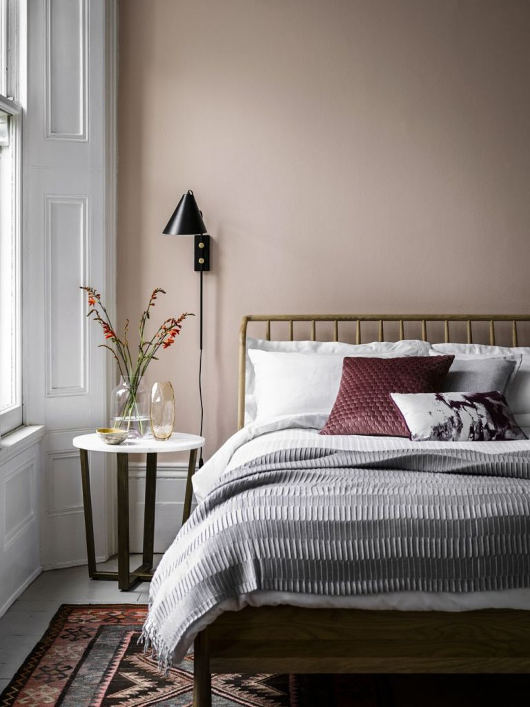 5 Pink And Grey Bedrooms So Dreamy They Will Inspire A Weekend Makeover Real Homes