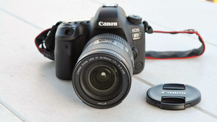 Best DSLR cameras: Canon EOS 6D Mark II