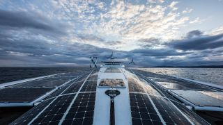 Energy Observer solar panels