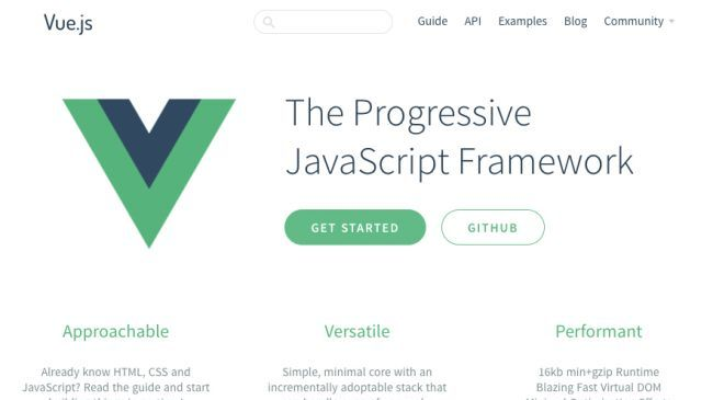 Not used to complex JavaScript libraries? Vue.js is perfect for you