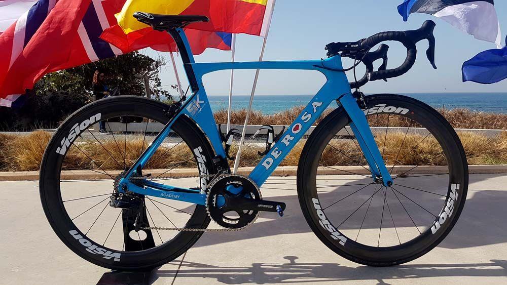 bike stolen during training ride