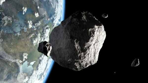 Image result for Asteroid size of Empire State Building to pass Earth Saturday night