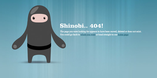 404 pages: CSS Ninjas