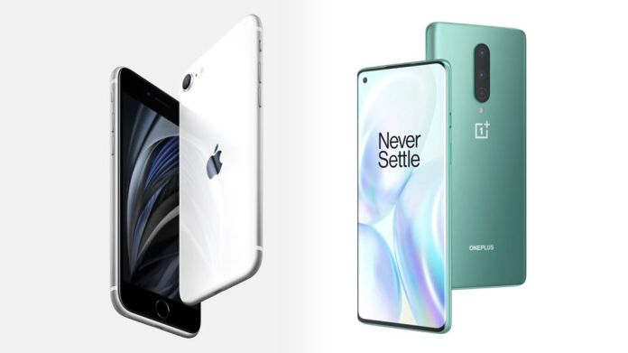 iPhone SE, OnePlus 8 take different routes to lure Indian ...