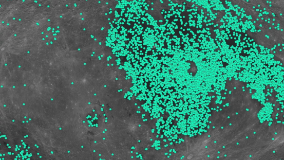 The moon has many more craters than we thought