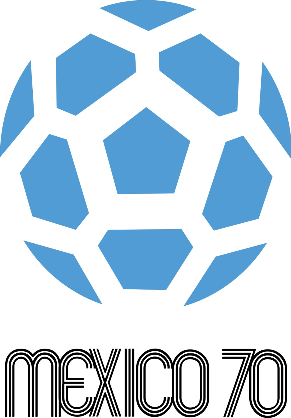 Mexico 1970 world cup logo