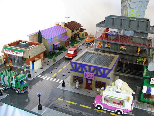 Lego art: Simpsons