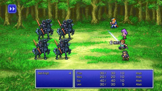 The Final Fantasy Pixel Remasters are out now and there's already a way to improve their crappy font 2