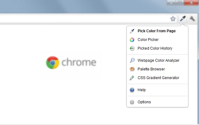 Google Chrome extensions - ColorZilla