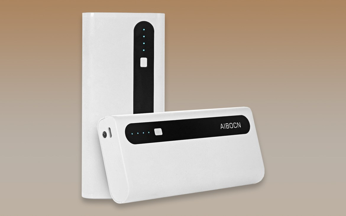 best portable chargers and power banks: Aibocn 10000mAh Power Bank Portable Charger with Flashlight