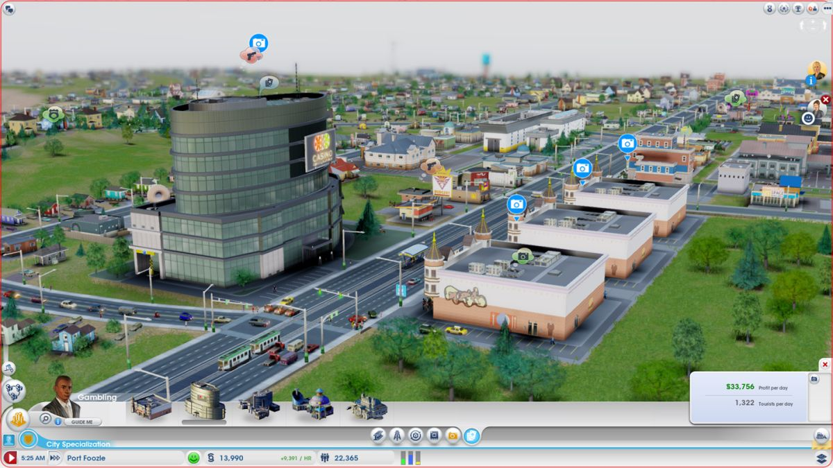 SimCity Hands On Preview Building Port Foozle PC Gamer
