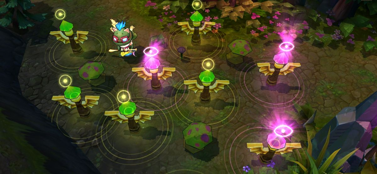 How To Ward The Map In League Of Legends With Teemo PC Gamer
