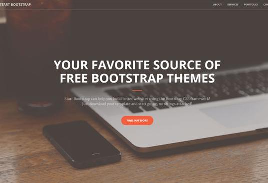 b9bf500de4cbbc0947d123fd7169400e 16 top free Bootstrap themes Random