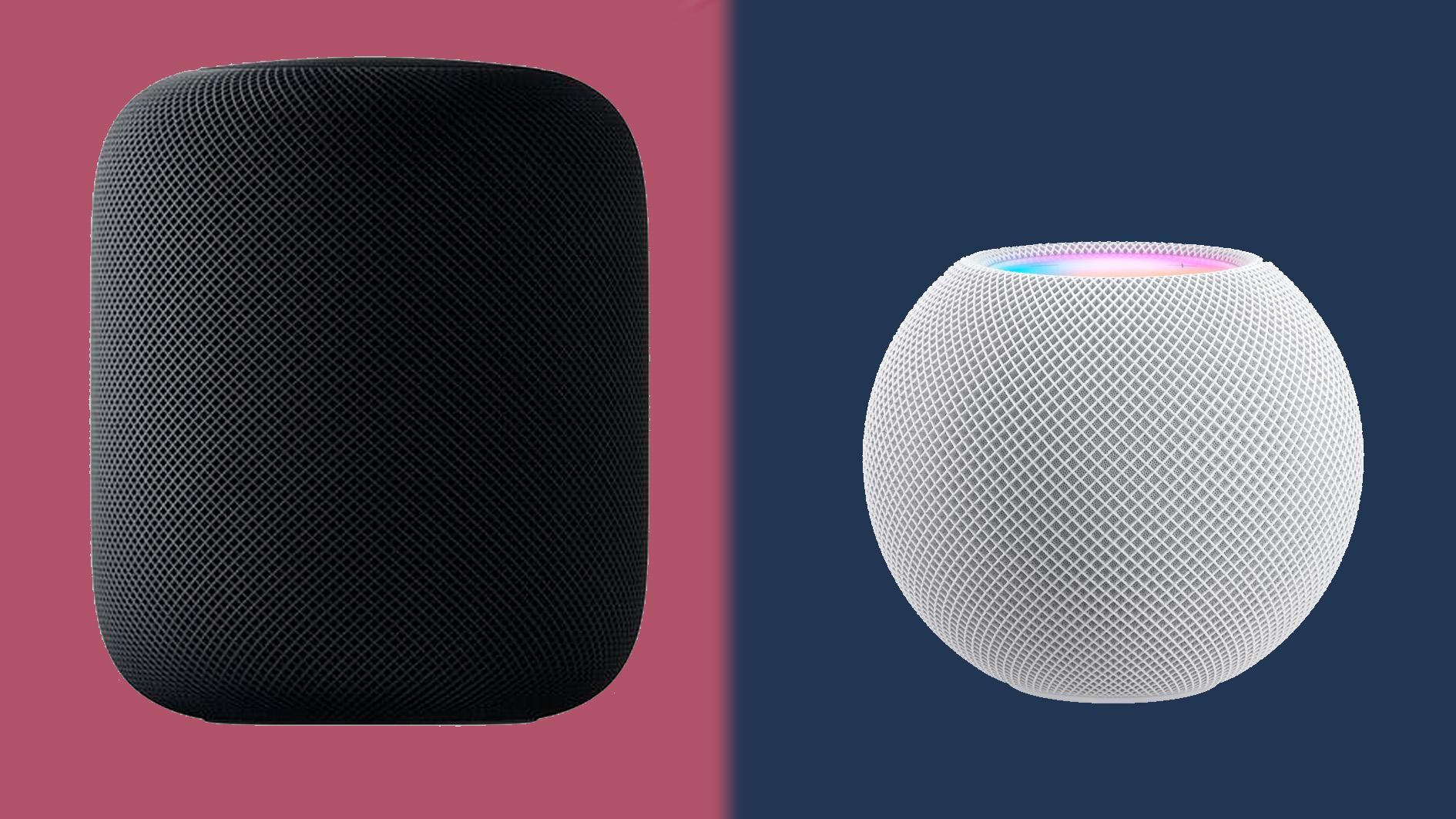 apple homepod mini vs apple homepod