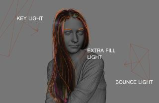 Create a lifelike digital human: Lighting