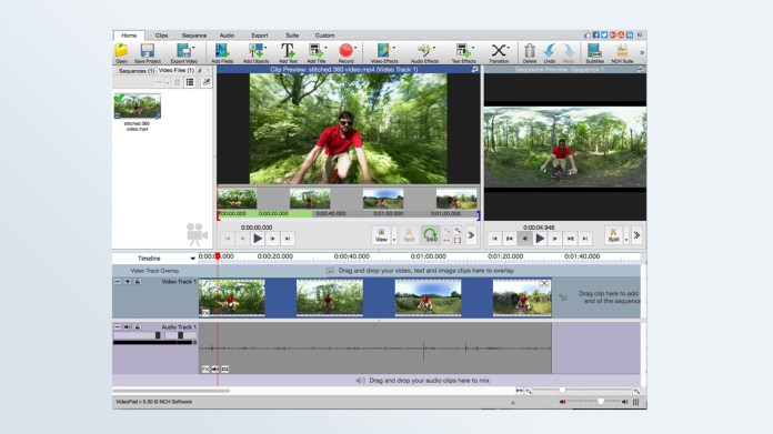 Best free video editing software: VideoPad