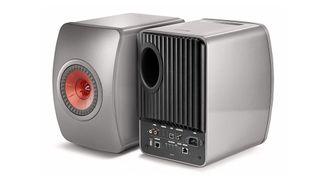 A pair of KEF LS50 Wireless speakers