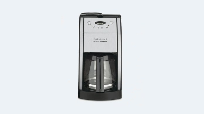 best coffee makers: cuisinart grind and brew
