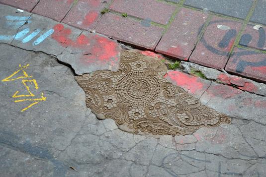 Street art: NeSpoon