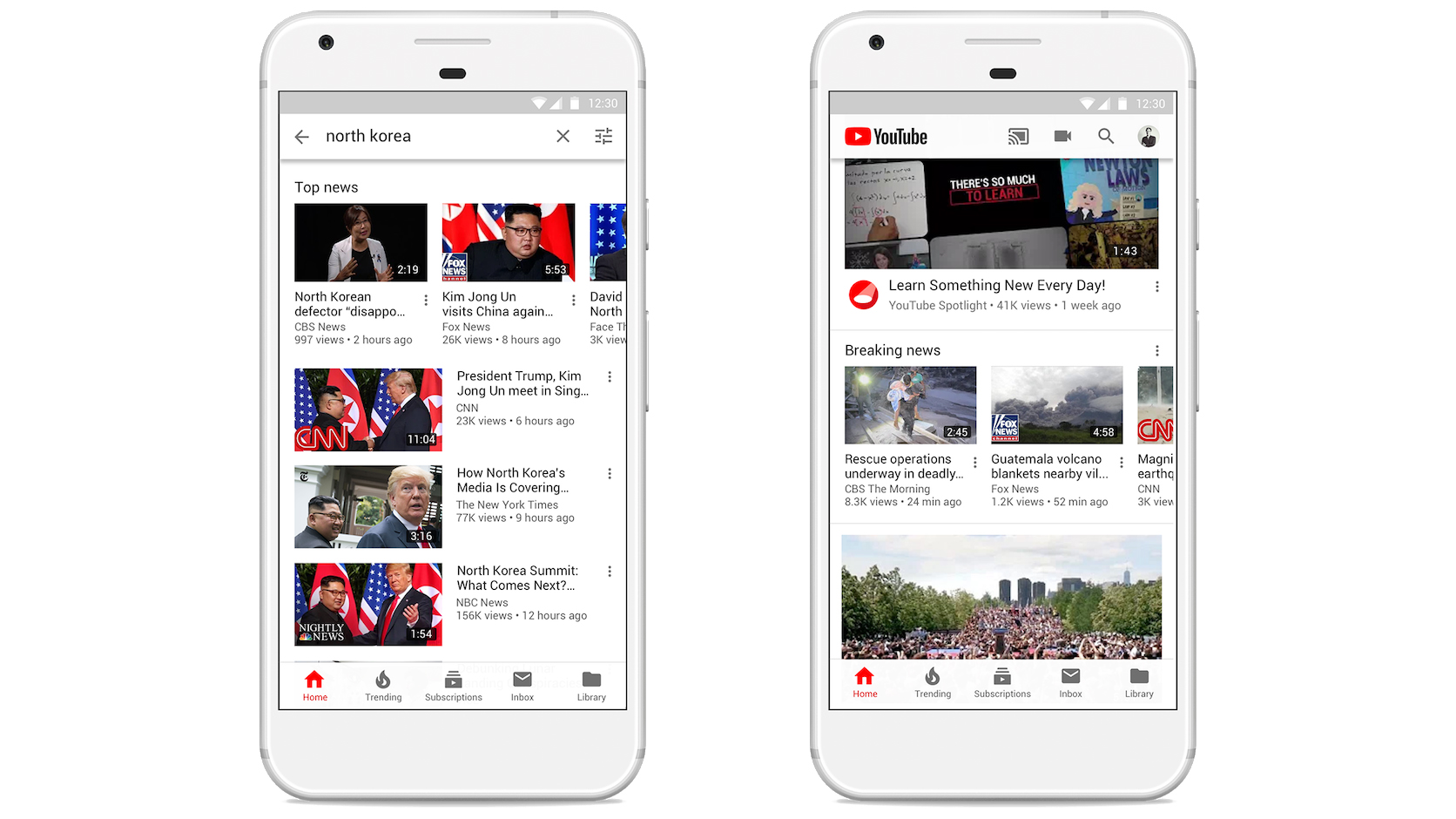 YouTube Top News and Breaking News