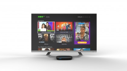 Now TV Smart Box Home Screen