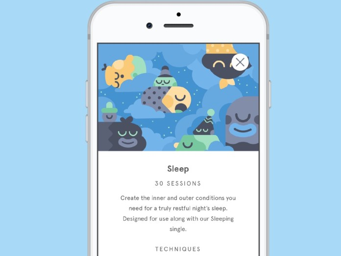 best sleep apps: headspace