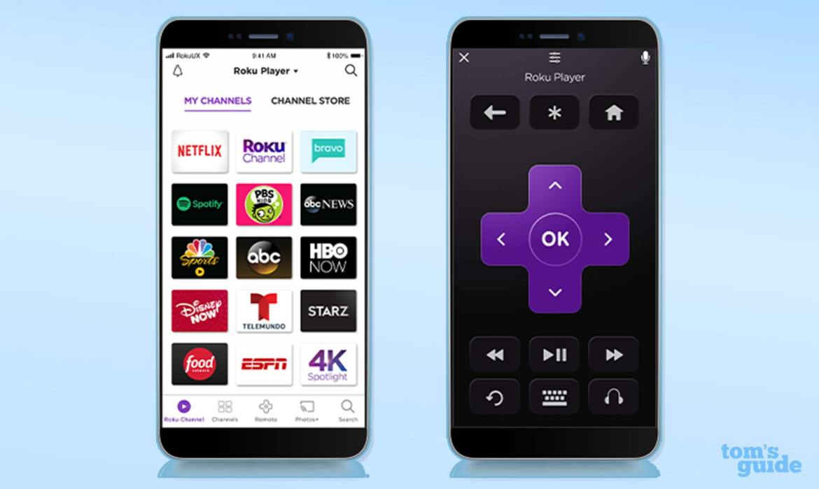 Roku remote not working: use the Roku app