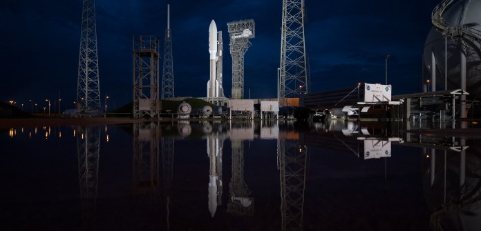 Perseverance is ready to launch. The rover is strapped in aboard a United Launch Alliance Atlas V rocket which can be seen here on Tuesday, July 28, 2020 on the launch pad at Space Launch Complex 41 at Cape Canaveral Air Force Station in Florida.