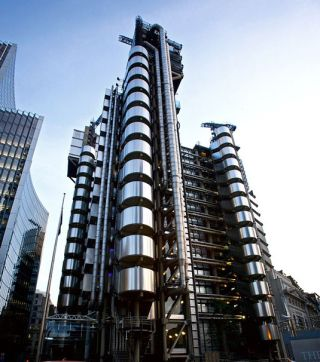 Famous buildings: Lloyds Building in London