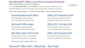 Microsoft Removes Office 2019 From Its Home Use Program