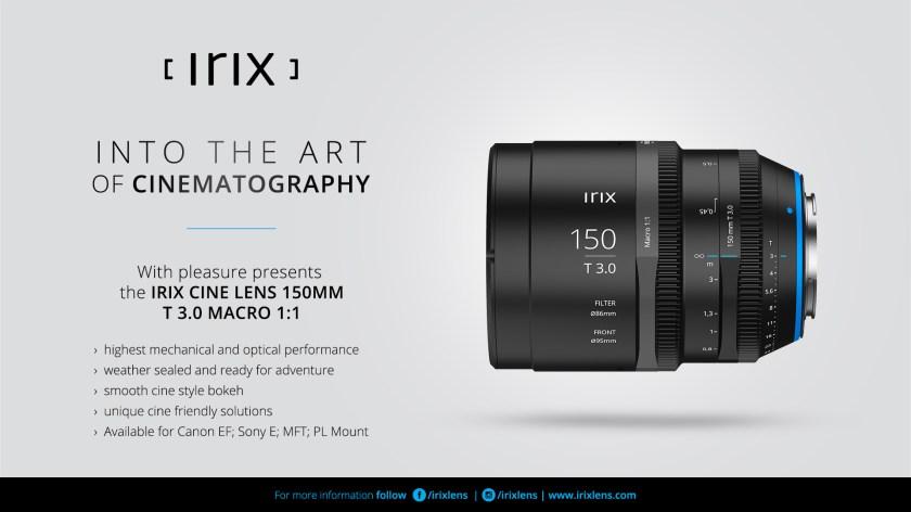 Irix Cine Lens