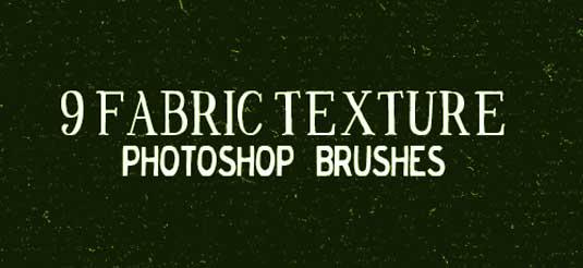 free Photoshop brushes: fabric