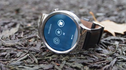 Huawei Watch Quick Settings Menu