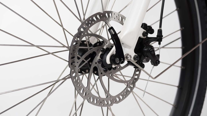 Rad power bikes RadWagon brakes