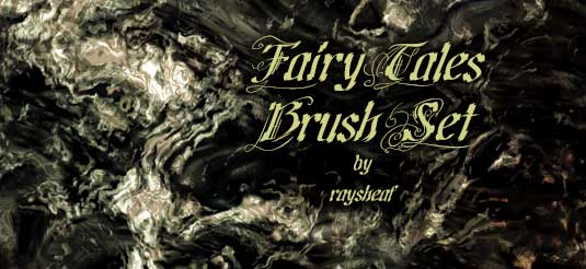 Free Photoshop brushes: fairy tales