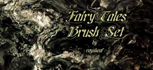 Fairy tales brush set