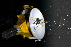 NASA's New Horizons probe reaches a short distance, looking out to the furthest Voyager