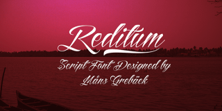Tattoo fonts: Reditum