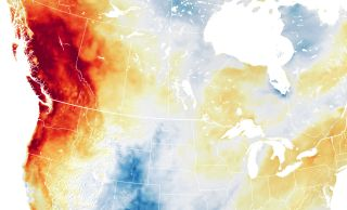 Scorching temperatures descended over the Pacific Northwest and Canada this week as a heat dome trapped a high-pressure block in place.