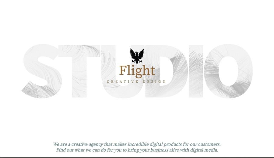 Interactive 3D typography