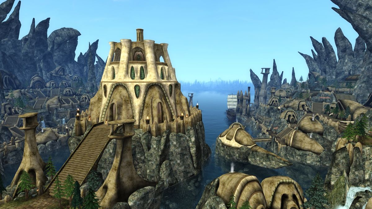 The 15 Year Quest To Mod The Mainland Into The Elder Scrolls III Morrowind PC Gamer