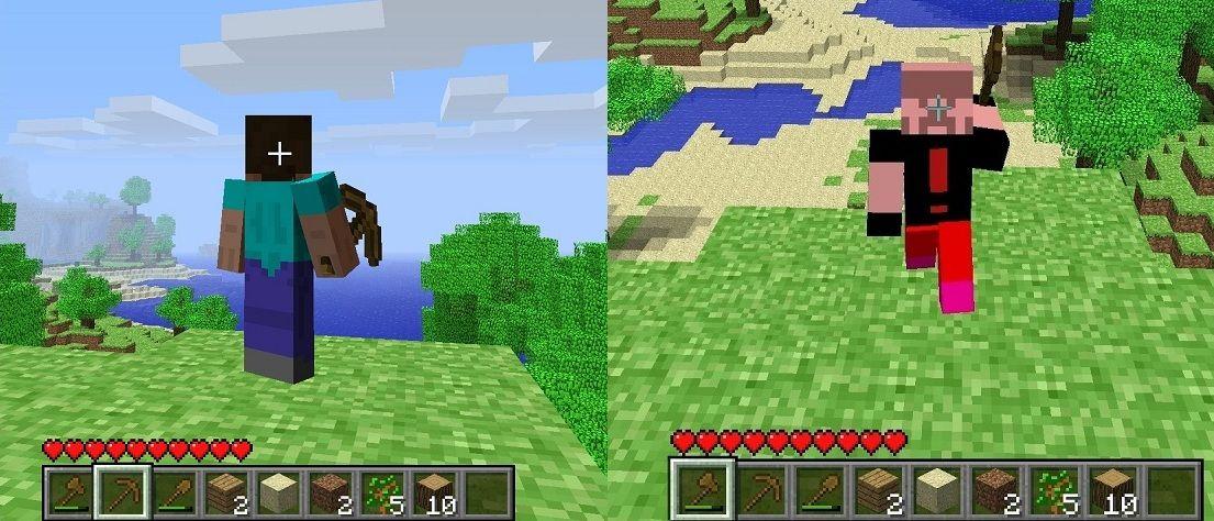 64x32 Minecraft Girl Hd Skins