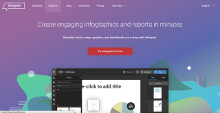 Infogram - free graphic design software
