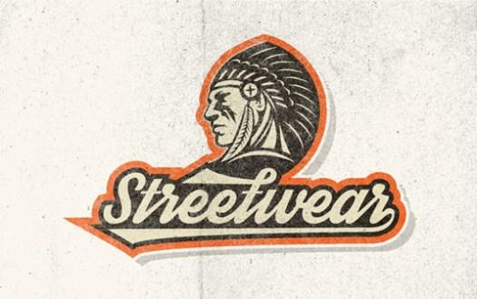 Free retro fonts: Streetwear