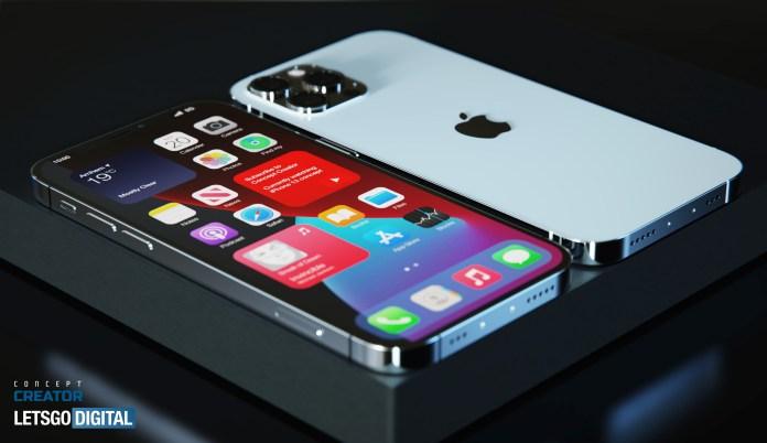 iPhone 13 versus iPhone 12: iPhone 13 / iPhone 12S concept