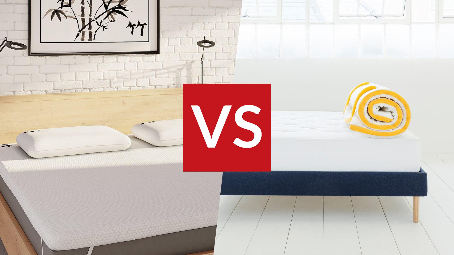eve topper vs panda topper which
